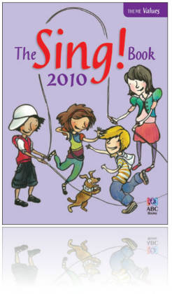 ABC Sing 2010 - Book RRP$13.99