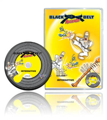 Black Belt Recorder Interactive DVD Rom Ten Devices