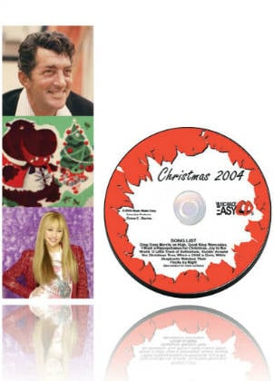 Christmas 2004 SongTorch files, CD & Book