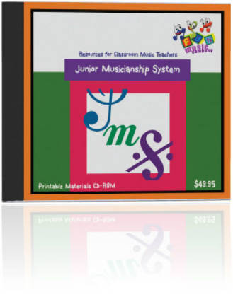 Fun Music Company - Junior Musicianship System CDROM