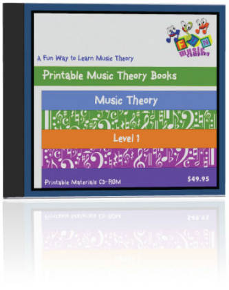 Fun Music Company - Music Theory Level One CDROM