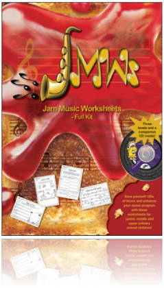Jam Music Worksheets - All-in-one Book & CD