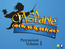 Notable Classics Percussion Volume 1 - Big Book & CD & Multimedia Book