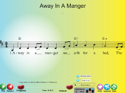 Away in a Manger (Common Version) - SongTorch Multimedia File