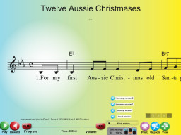 Twelve Aussie Christmases - SongTorch Multimedia File