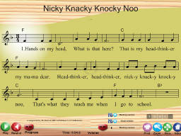 Nicky Knacky Knocky Noo - SongTorch Multimedia File