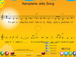 Aeroplane Jelly Song - SongTorch Multimedia File