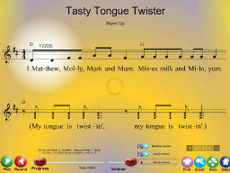 Tasty Tongue Twister - SongTorch Multimedia File