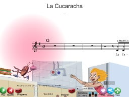 La Cucaracha - SongTorch Audio & Notation File
