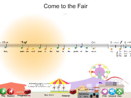 Come to the Fair - SongTorch Audio & Notation File