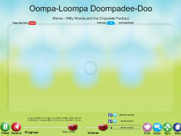 Oompa-Loompa Doompadee-Doo - SongTorch Audio Only File