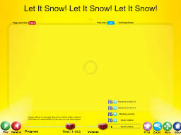 Let It Snow! Let It Snow! Let It Snow! - SongTorch Audio Only File