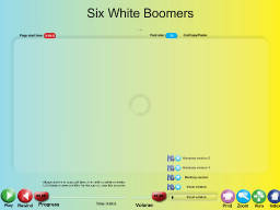 Six White Boomers - SongTorch Audio Only File