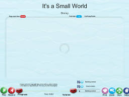 It's a Small World - SongTorch Audio Only File