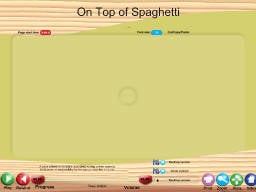 On Top of Spaghetti - SongTorch Audio Only File