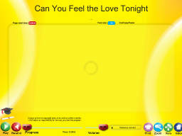 Can You Feel the Love Tonight - SongTorch Audio Only File