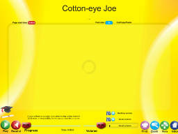 Cotton-eye Joe - SongTorch Audio Only File