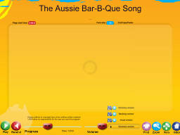 Aussie Bar-B-Que Song, The - SongTorch Audio Only File
