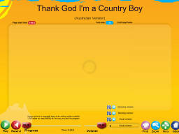 Thank God I'm a Country Boy - SongTorch Audio Only File