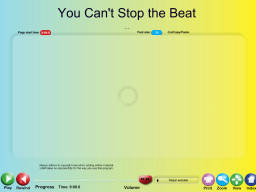 You Can't Stop the Beat - SongTorch Audio Only File