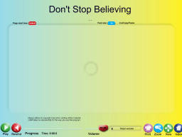 Don't Stop Believing - SongTorch Audio Only File