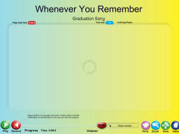 Whenever You Remember - SongTorch Audio Only File