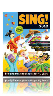 ABC Sing 2012 - Book RRP $13.99