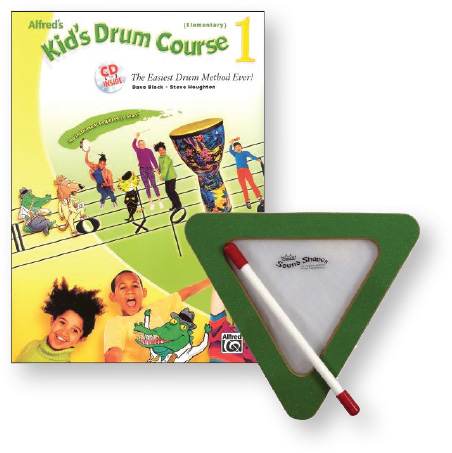 Alfred's Kids Drum Course 1 with Sound Shape