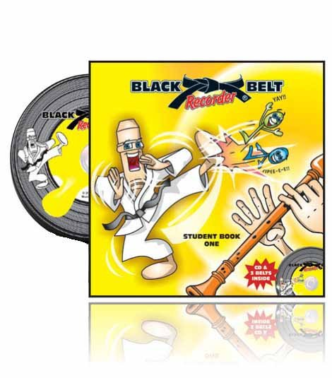 Black Belt Recorder - Student Book 1 with CD