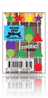 Black Belt Ukulele - Student Book One, Belts, Chord Sticker Sheet & CD - WTM Edition