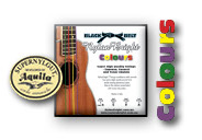 Nylon Bright Colours / Aquila Super Nylgut Ukulele String Set for Sop., Concert, Tenor