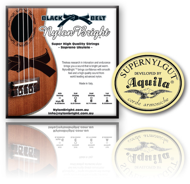 Nylon Bright / Aquila Super Nylgut Sop. Ukulele String Set