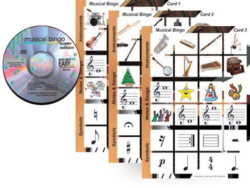 Musical Bingo Super Size CD & Materials