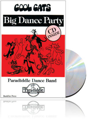 Cool Cats Big Dance Party - Book & CD