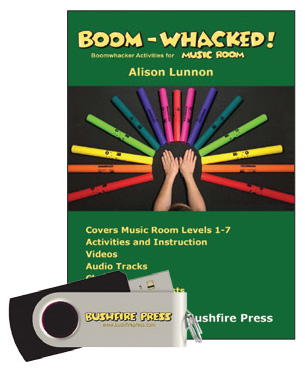 Boom-Whacked for Music Room 1 - 7 USB