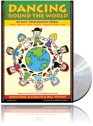 Dancing 'Round The World - Book & CD