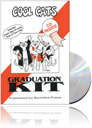 Cool Cats Graduation Kit Book & CD RRP $39.95
