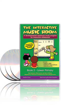 Music Room 2 - Junior Primary INTERACTIVE for PC only
