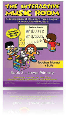 Music Room 3 - Junior Primary INTERACTIVE for PC only