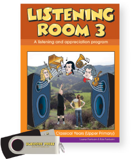 Bushfire Press - Listening Room (Upper Primary) Level 3 Book & USB