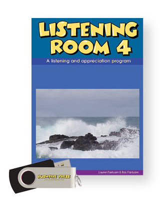 Bushfire Press - Listening Room (Upper Primary) Level 4 Book & USB