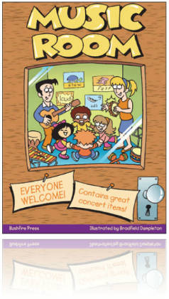 Music Room Book 1 -  Beginning Primary Level Book & USB