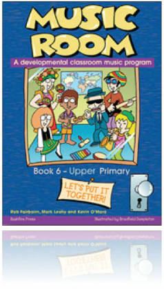Music Room Book 6 - Upper Primary Level & USB