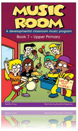 Music Room Book 7 - Upper Primary Level & USB
