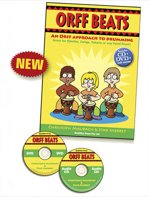 Orff Beats Book, CD and DVD