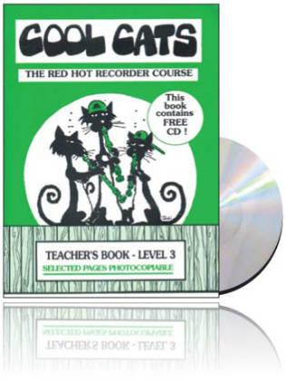 Cool Cats Red Hot Recorder Delux Pack of all 6 Books