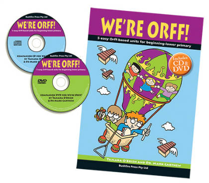 We're Orff Lower Primary 1 Book, DVD & CD