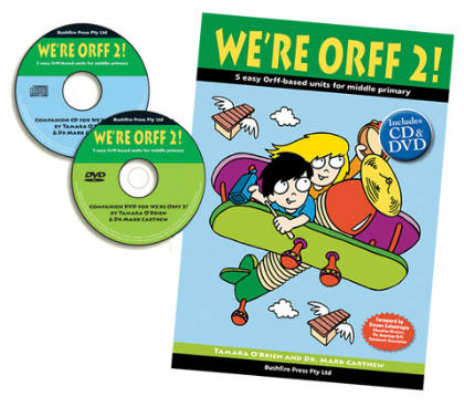 We're Orff Middle Primary 2 Book, DVD & CD