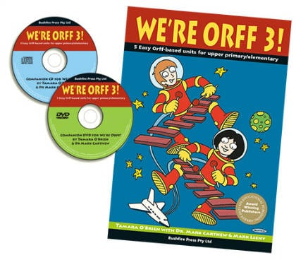 We're Orff Upper Primary 3 Book, DVD & CD