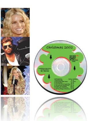 Christmas 2002 SongTorch files, CD & Book